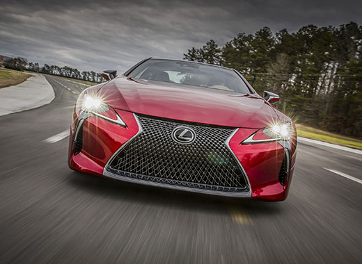 2017 Lexus LC 500 Driving Gallery 002